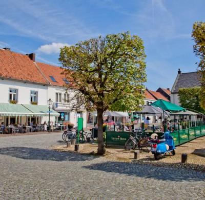 Restaurant Herberg Stadt Stevenswaert terras