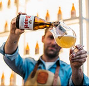 Bierproeverij bij Herberg Stevensweert